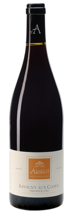 Savigny les Beaune 150x423 - Domaine d'Ardhuy Savigny Les Beaune 'Aux Clos' 1er Cru 2015